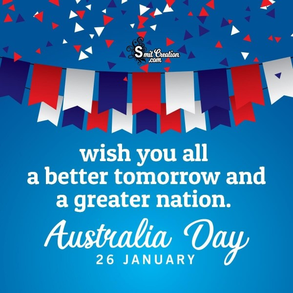 Wish You All Happy Australia Day