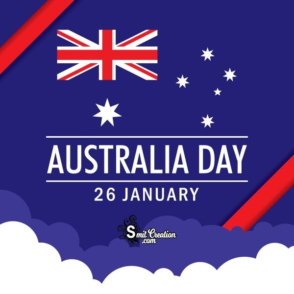 Australia Day 26 January Nevy Blue Card
