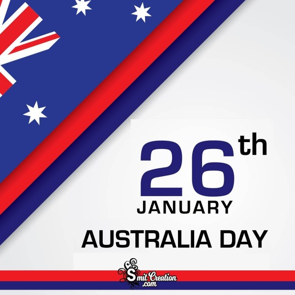 26 January Australia Day Card