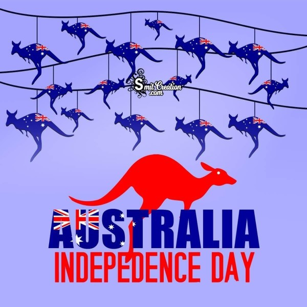 Australia Independence Day Card