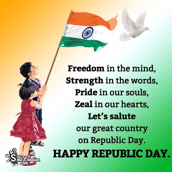Happy Republic Day Quote For Whsatsapp