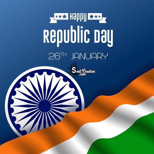 Happy Republic Day Graphic Card