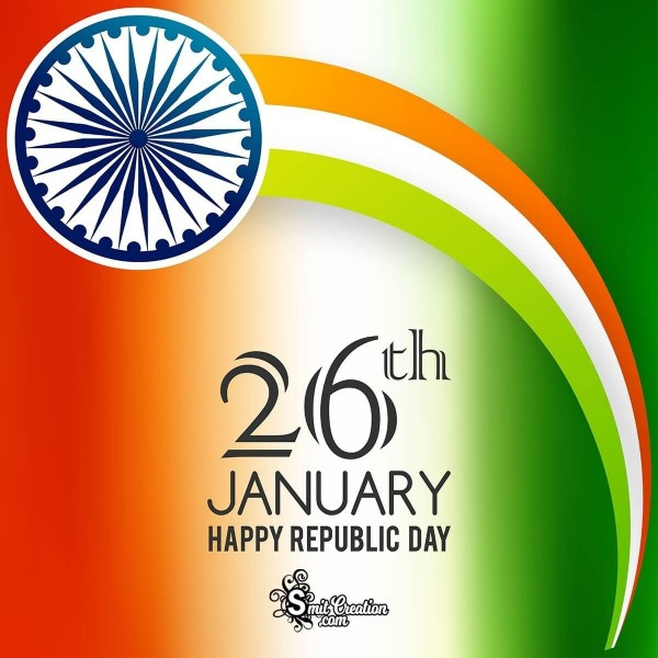Happy Republic Day Creative Card