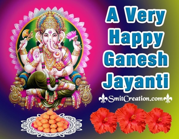 A Very Happy Ganesh Jayanti Card
