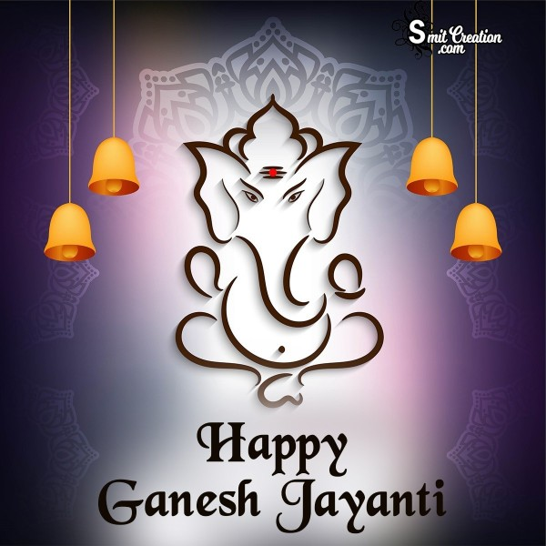 Happy Ganesh Jayanti Greeting Card