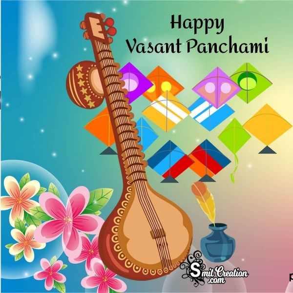 Happy Vasant Panchami Card