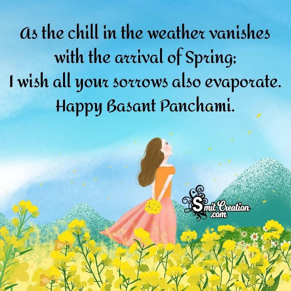 Happy Vasant Panchami Wishes Quote
