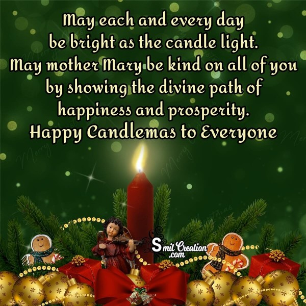 Happy Candlemas Wishes Card For Everyone