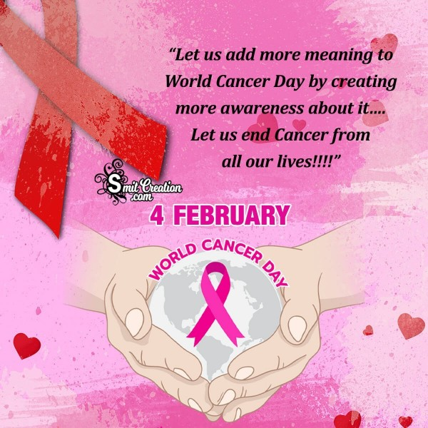 World Cancer Day Card