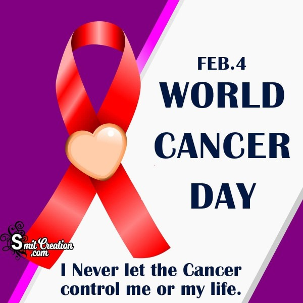 2020 World Cancer Day Objective Slogan
