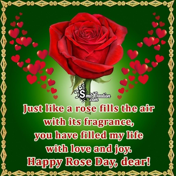 Happy Rose Day Dear