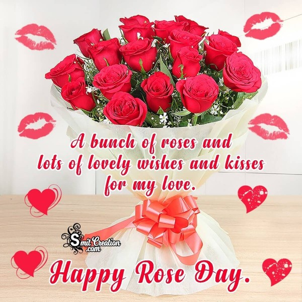 Happy Rose Day Card For My Love