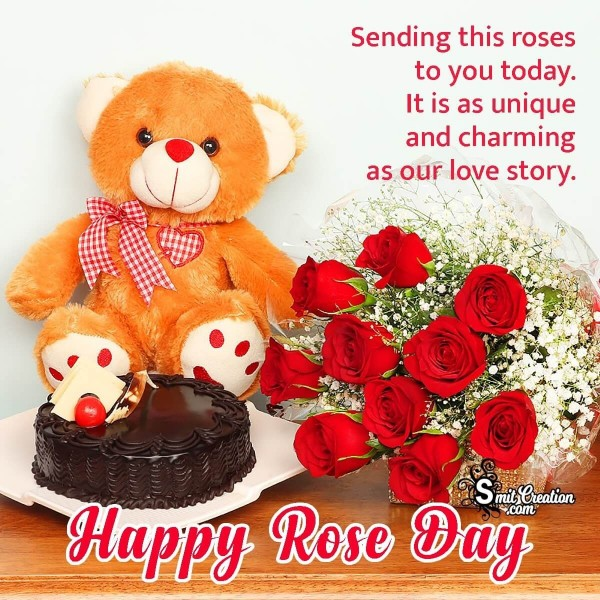 Happy Rose Day To You Dear