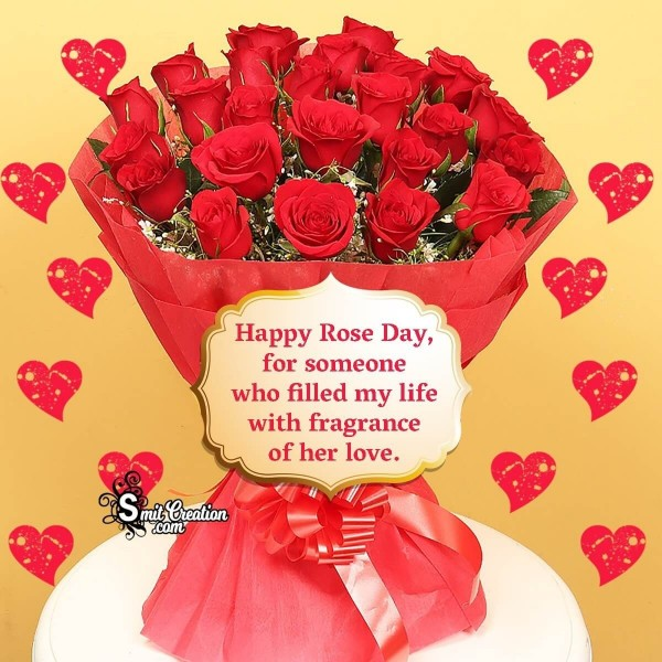 Happy Rose Day For Someone Her