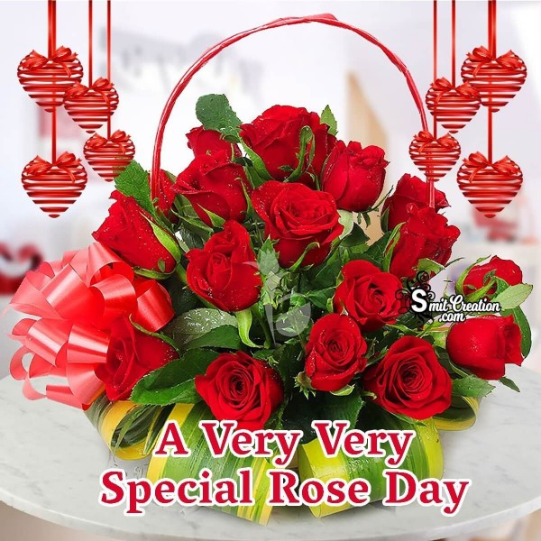 A Very Very Special Rose Day