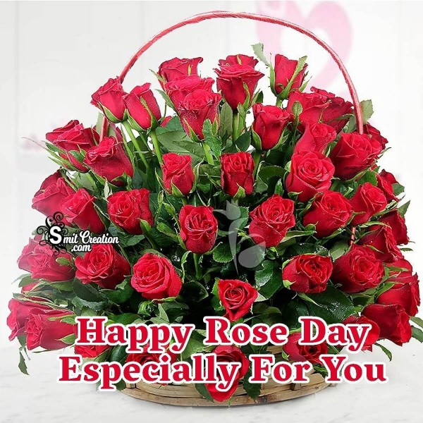 Happy Rose Day Especially For You