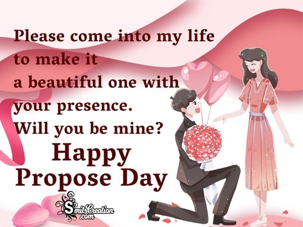 Happy Propose Day For Her