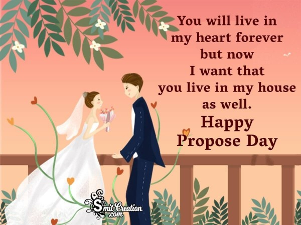 Happy Propose Day For Whatsapp