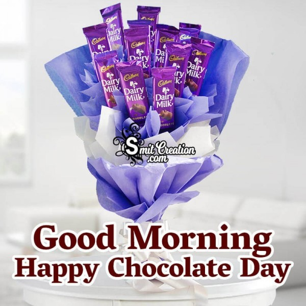 Good Morning Happy Chocolate Day Card