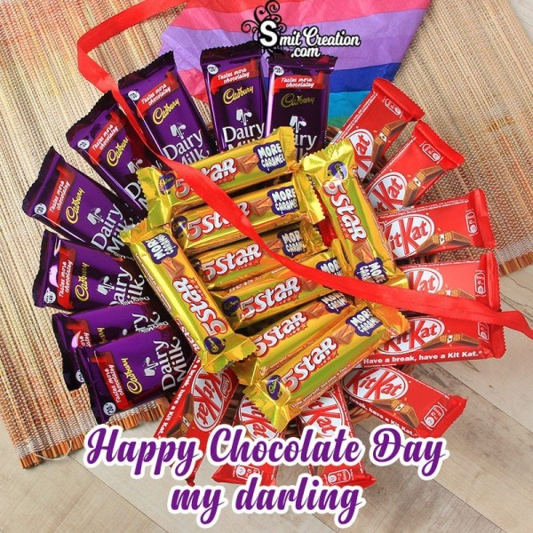 Happy Chocolate Day My Darling
