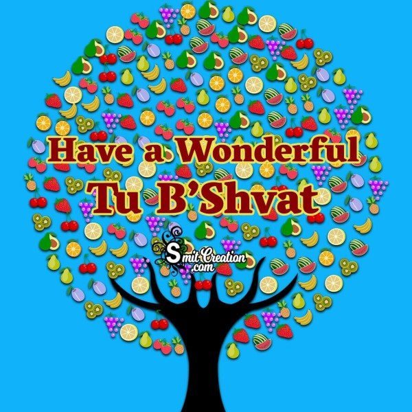 Celebrate Tu Bishvat And Send Everyone This Wonderful Card