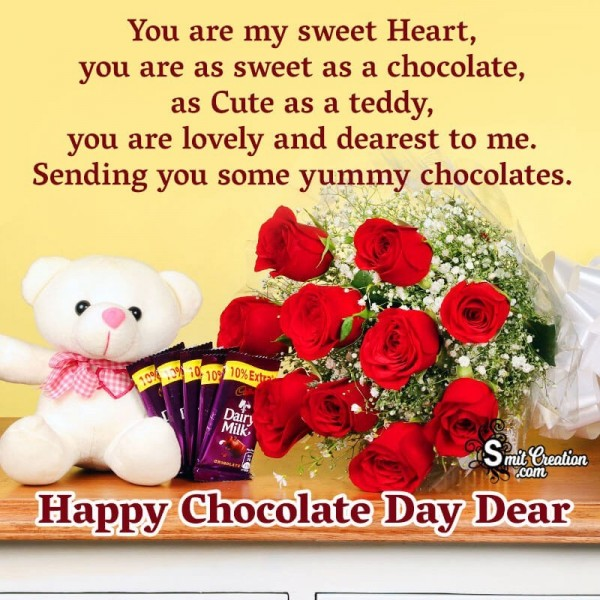 Happy Chocolate Day Dear