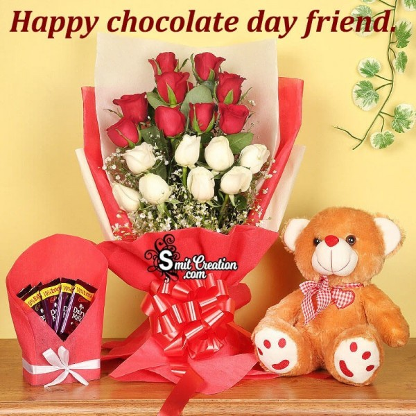 Happy Chocolate Day Friend