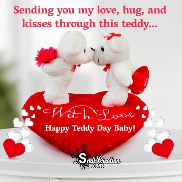 Happy Teddy Day Baby