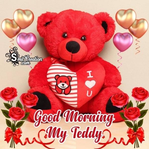 Good Morning My Teddy Greeting