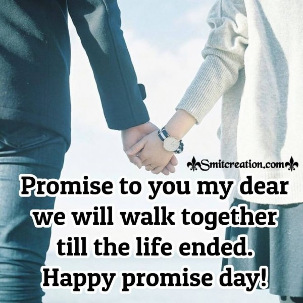 Happy promise day To You My Dear
