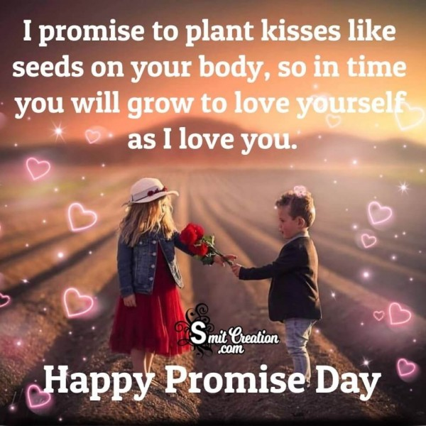 Happy promise day I Love You