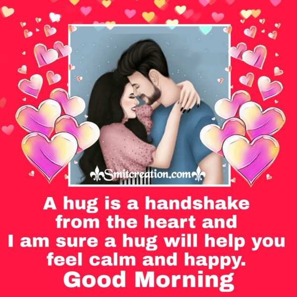Good Morning Hug Quote