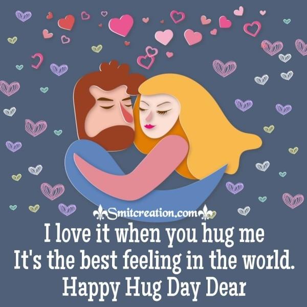 Best Happy Hug Day Card
