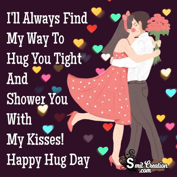 Happy Hug Day Greeting For You