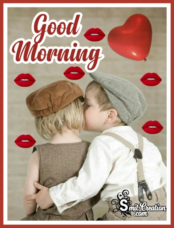 Good Morning Kiss Day Images
