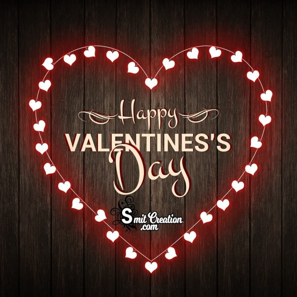 Happy Valentine Day Lovely Heart Card