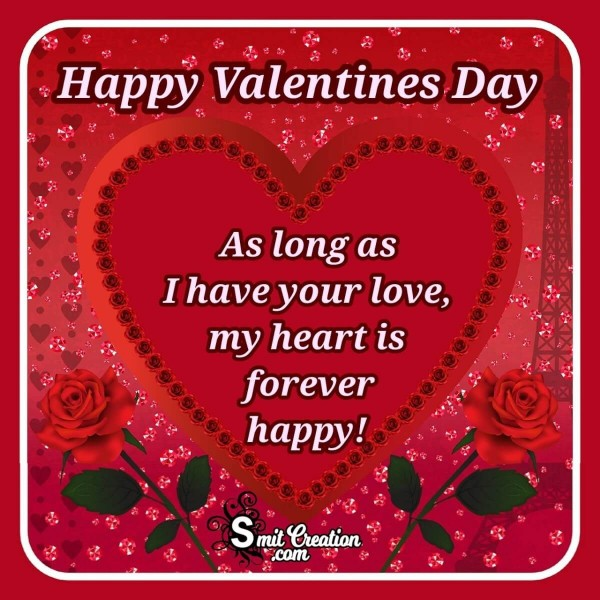 Happy Valentine's Day Card For Love