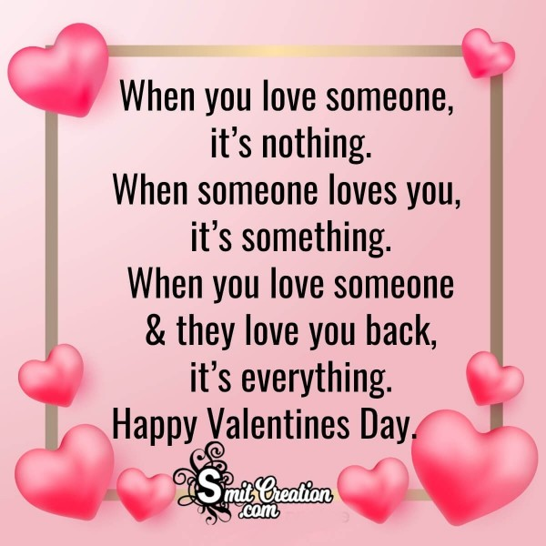 Happy Valentines Day Message For Everyone