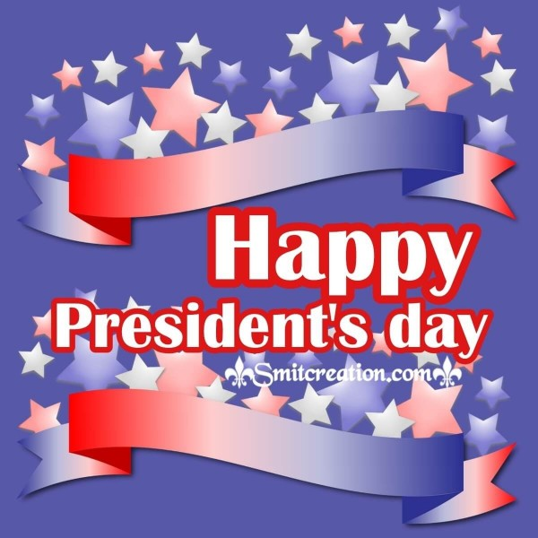 Happy President's day Stars Card