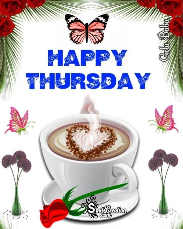 Happy Thursday Coffee Card