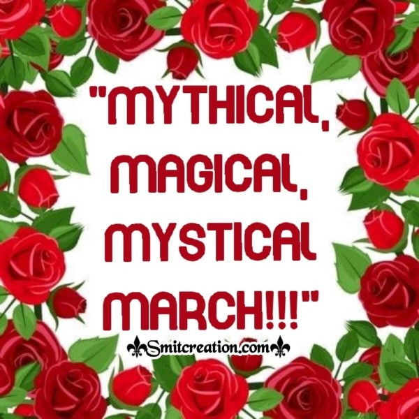 Mythical, Magical, Mystical March