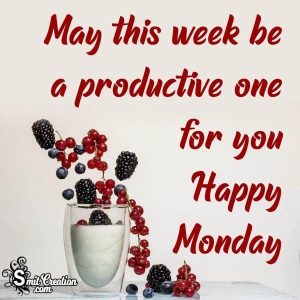 Happy Productive Monday