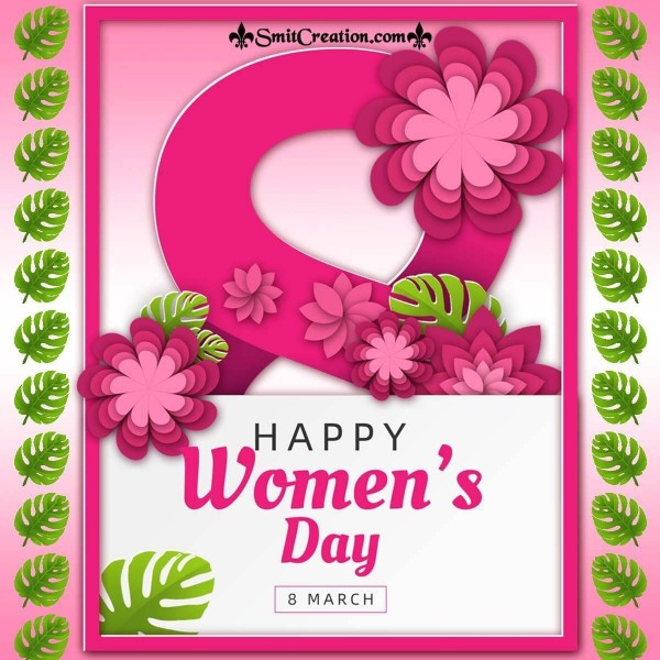 Happy Women's Day Exotic Greeting