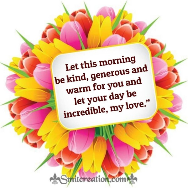 Good Morning Wish For Her