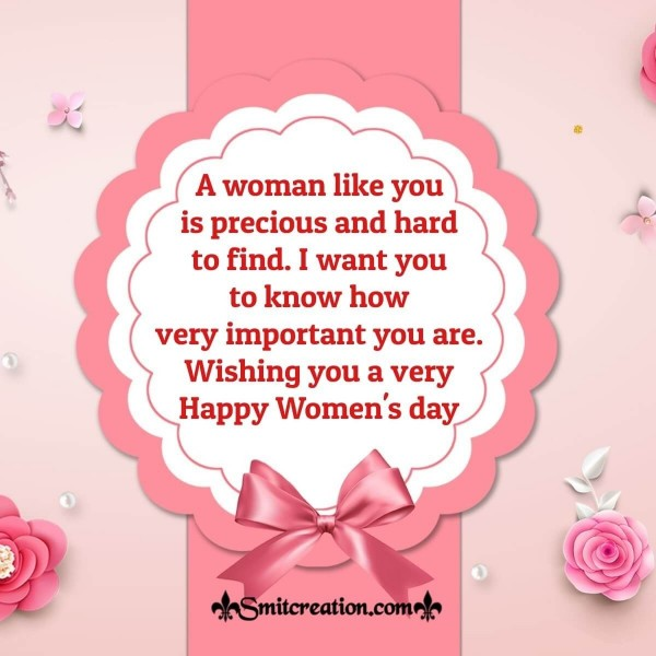 Wishing You A Very Happy Women's Day