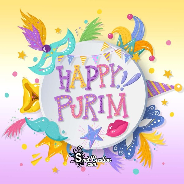 Happy Purim Image