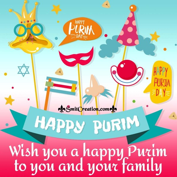 Wish You A Happy Purim To You And Your Family