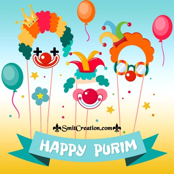 Happy Purim Greeting