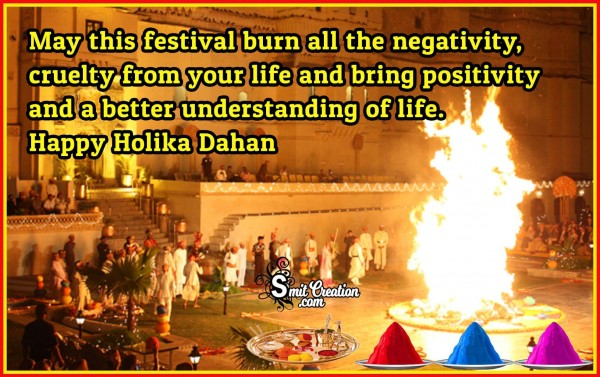 Happy Holika Dahan Blessing