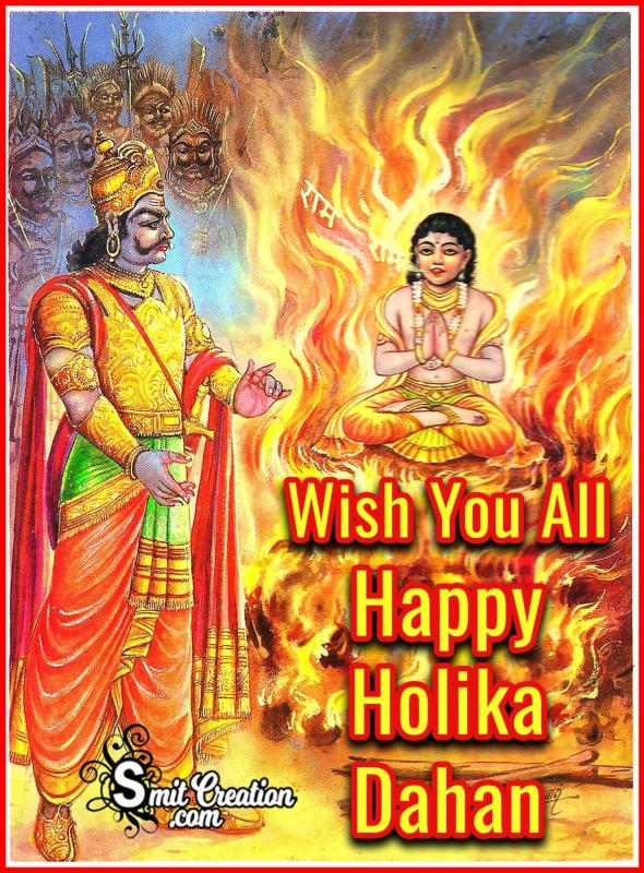 Wish You All Happy Holika Dahan